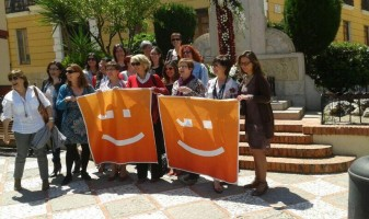 En la foto la regidora Teresa Garcia, FTG:// Dones en Compromís