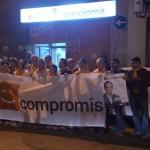 Foto de familia de la militància i simpatitzants de la comarca