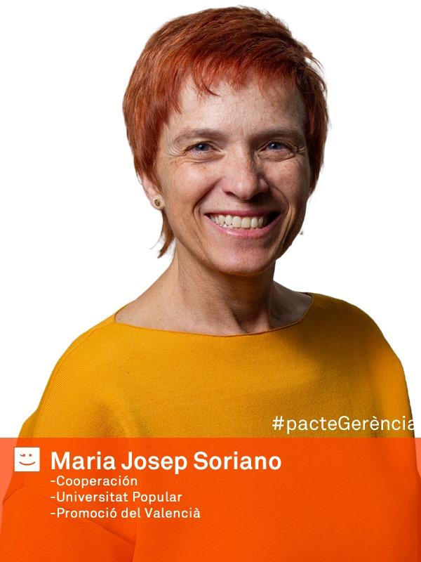 Maria Josep Soriano Compromís per Sagunt