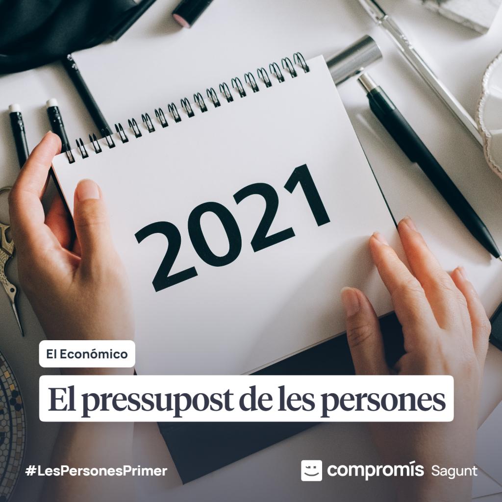 Pressupostos 2021 Pepe Gil Compromís Sagunt